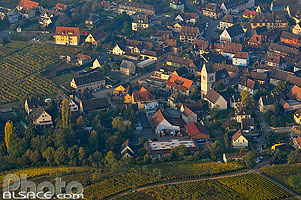 Photo : Village de Mittelwihr, Haut-Rhin (68), Alsace, France