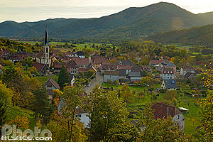 Photo : Gunsbach, Vallée de Munster, Haut-Rhin (68) // Gunsbach, Munster Valley, Haut-Rhin (68)