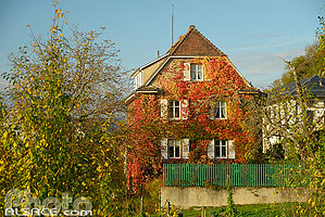 Photo : Maison d'Albert Schweitzer, Gunsbach, Haut-Rhin (68)