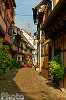 Photo : Rue du Rempart Sud, Eguisheim, Haut-Rhin (68)