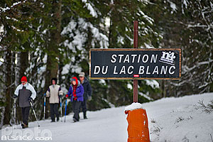 Photo : Station du Lac Blanc, Orbey, Haut-Rhin (68), Alsace, France