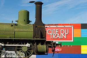 Photo : Cité du Train, Mulhouse, Haut-Rhin (68)
