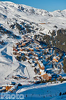Photo : Station de ski de Méribel-Mottaret, Méribel, Les Allues, Savoie (73), Rhône-Alpes, France