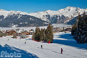 Photo : Courchevel 1850, Saint-Bon-Tarentaise, Savoie (73), Rhône-Alpes, France