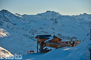 Photo : Restaurant Les Pierres Plates, Courchevel, Saint-Bon-Tarentaise, Savoie (73)