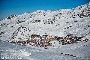 Photo : Station de ski de Val Thorens, Saint-Martin-de-Belleville, Savoie (73), Rhône-Alpes, France