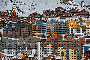 Photo : Station de ski de Val Thorens, Saint-Martin-de-Belleville, Savoie (73)