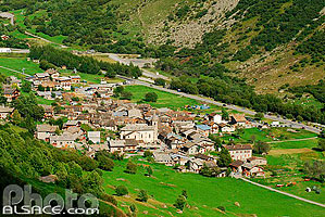 Photo : Village de Bonneval-sur-Arc, Haute Maurienne, Savoie (73)