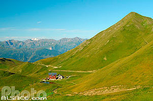Photo : Refuge du Mont Jovet et Dou de Moûtiers, Tarentaise, Parc national de la Vanoise, Savoie (73), Rhône-Alpes, France