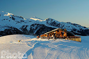 Photo : Restaurant d'altitude L'Arbet, Valmorel, Tarentaise, Savoie (73)