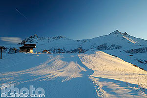 Photo : Piste de ski (Tête Montolivet), Valmorel, Tarentaise, Savoie (73)