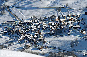 Photo : Village Les Avanchers, Valmorel, Tarentaise, Savoie (73)