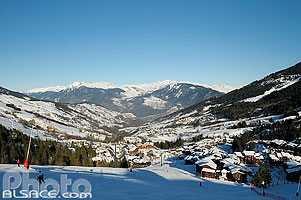 Photo : Piste de ski (Planchamp), Valmorel, Tarentaise, Savoie (73)
