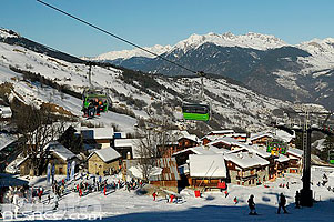 Photo : Altispace, Valmorel, Tarentaise, Savoie (73), Rhône-Alpes, France