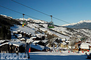 Photo : Altispace, Valmorel, Tarentaise, Savoie (73)