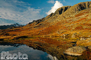 Photo : Lac Guichard et les Perrons, Saint-Sorlin d'Arves, Maurienne, Savoie (73)