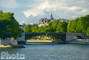 Photo : Le Pont de Sully, Paris (75004), Ile-de-France, France