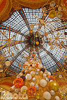 Photo : Coupole des Galeries Lafayette Haussmann, Paris (75009), Ile-de-France, France