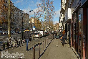Photo : Boulevard Beaumarchais, Paris (75004)