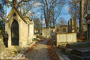 Photo : Cimetière du Père-Lachaise, Paris (75020), Ile-de-France, France