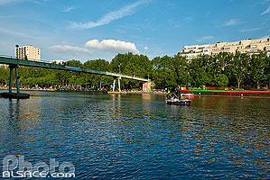 Photo : Bassin de la Villette, Paris (75019)