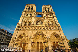 Photo : Cathédrale Notre-Dame de Paris, Parvis Notre-Dame - Place Jean-Paul II, Paris (75004), Ile-de-France, France