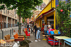 Photo : Marché Jules Vallès, Puces de Saint-Ouen, Saint-Ouen, Seine-Saint-Denis (93)