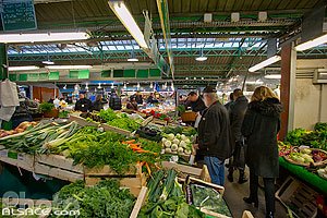 Photo : Marché des Enfants Rouges, Rue de Bretagne, Paris (75003), Ile-de-France, France
