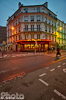 Photo : Bar La Cagnotte, Rue de Belleville, Paris (75020)