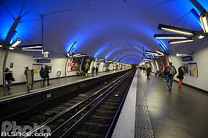 Photo : Station de métro Gambetta (Ligne T3), Paris (75020)