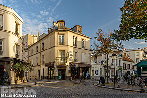Photo : Rue des cinq Diamants, Butte-aux-Cailles, Paris (75013)