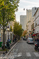 Photo : Rue de la Butte-aux-Cailles, Paris (75013)