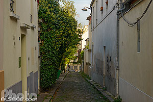 Photo : Passage Barrault, Butte-aux-Cailles, Paris (75)