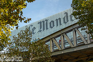 Photo : Immeuble du journal Le Monde, Boulevard Auguste Blanqui, Paris (75013)