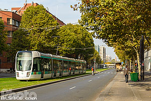 Photo : Rame de tramway, Boulevard Brune, Paris (75014)