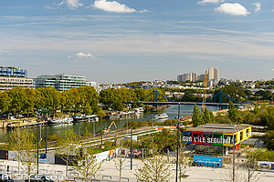 Photo : Ile Seguin Rives de Seine, Boulogne-Billancourt, Haut-de-Seine (92)