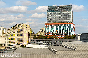 Photo : Tour Horizons, Quartier Trapèze, Ile Seguin Rives de Seine, Boulogne-Billancourt, Haut-de-Seine (92)