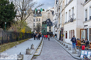 Photo : Rue Saint-Julien le Pauvre, Paris (75005)