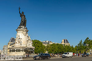Photo : Place de la République, Paris (75011)