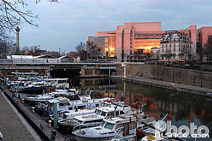 Photo : Port de plaisance Paris Arsenal, Paris (75)