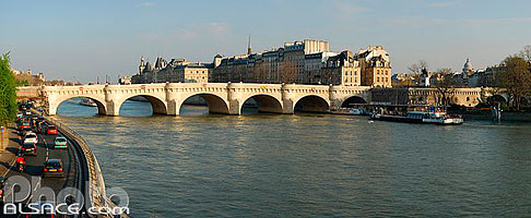 Photo : Le Pont Neuf et l'Ile de la Cité, Paris (75)