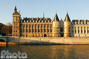 Photo : La Conciergerie et le Quai de l'Horloge, Paris (75)