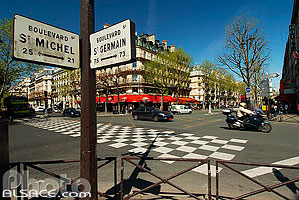 Boulevard Saint-Michel et Saint-Germain, Paris (75)