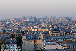 Photo : Paris vue depuis la Butte Montmartre, Paris (75)