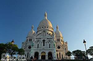 Photo : Basilique du Sacré Coeur, Montmartre, Paris (75)