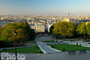 Photo : Square Michel, Butte Montmartre, Paris (75)