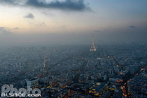Photo : Paris vue depuis la Tour Montparnasse, Paris (75)