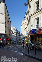 Photo : Place de la Contrescarpe, Paris (75), Ile-de-France, France