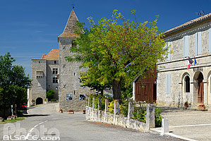 Photo : Village de Gramont, Tarn-et-Garonne (82)