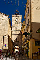 Photo : Tour de l'Horloge, Rue des Marchands, Apt, Vaucluse (84)
